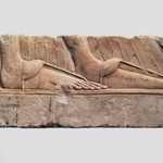 Relief of Sandaled Feet of a Royal Woman