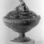 Covered Compote, One of Pair