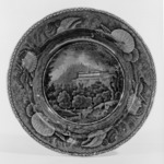 "Soup Plate, ""Pine Orchard House, Catskill Mountains"""