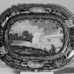 "Platter, ""Niagara from the American Side"""