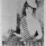 Woman at the Railing (Femme a la barre)