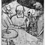 Patient, Physican, Death and Devil (Kranker, Artz, Tod und Teufel)