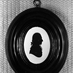 Silhouette of Charles Gower