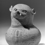Animal Effigy Spouted Jar