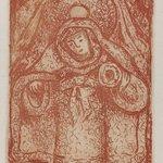 Religious Figure with Halo