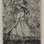 Female Dancing Figure in Hat