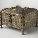 Mamluk-Style Lidded Casket with Qur'anic Inscriptions
