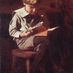 Boy Reading: Ned Anshutz