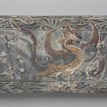 Tomb Tile with Phoenix Design