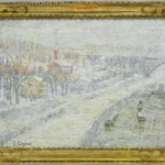 Winter Landscape: Washington Bridge