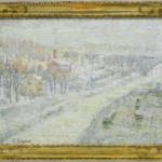 Winter Landscape: Washington Bridge