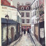 Street in Belleville (Rue à Belleville)