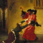 Desdemona Cursed by her Father (Desdemona maudite par son père)