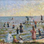 Bathing at Bellport, Long Island