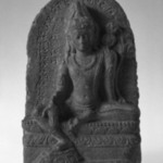 Stele with the Seated Figure of Avalokiteshvara