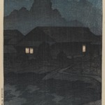 Tsuta Hot Springs, Mutsu Province, from the series Souvenirs of Travel I