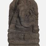 Seated Four Armed Ganesha