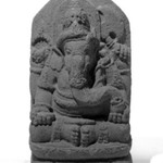 Seated Four Armed Ganesha