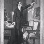 The Spanish Frame (Portrait of George Basso)