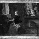 Woman at a Piano