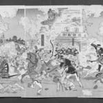 Illustration of the Fall of the Castle of Pyongyang (Heijō rakujō no zu)