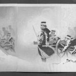 Braving the Snow, Our Troops Capture the Stronghold at Weihaiwei (Yuki o okashite, waga gun Ikaiei no kenrui o nuku zu)