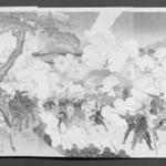 Our Army Attacks Enemy Troups at Jiuliancheng (Wagagun Kyorejo no tekihei o kogeki su)