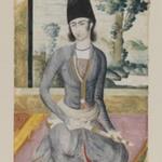 Seated Qajar Prince