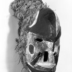 Mask with Basketry Rim (Bekee)