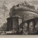 """Castello S. Angelo"" (Veduta Mausoleo dElio Adriano)"