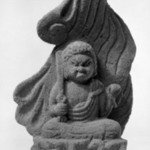 Fudo Myoo (Folk Sculpture)