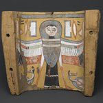 Image of a Ba-bird on a Footpiece from a Coffin