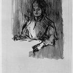 Child, Bust Length Sketch