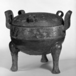Tripod Vessel with Lid