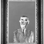 Picture of a Portrait in a Silver Frame