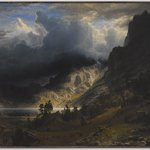 A Storm in the Rocky Mountains, Mt. Rosalie