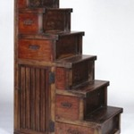 Kaidan Tansu  (Chest of Drawers in the Form of a Stairway)