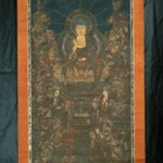 Buddha and Sixteen Benevolent Deities