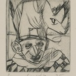 Untitled (Rhino and Clown)
