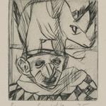 Untitled (Rhino and Clown)