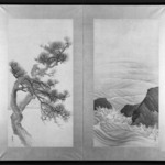Pine Trees and Waves