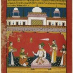 Malakausika Raga, Page from a Dispersed Ragamala Series