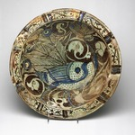 Bowl with Peacock Motif