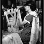 [Untitled] (Women Making Stockings)