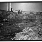 [Untitled] (Steel Mill with Excavation and Railroad Tracks)