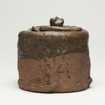 Tea Ceremony Fresh Water Jar and Storage Box (Mizusashi)