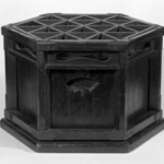 Charcoal Brazier with Support for Quilted Coverlet (Kotatasu)