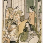 Scene at a Dyers Shop, from The Tale of Shiraishi, a Latter-day Taiheiki