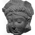 Head of an Attendant Deity