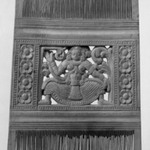 Comb with Dancing Figure
